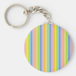 Frosted Pastel Vertical Rainbow Keychain
