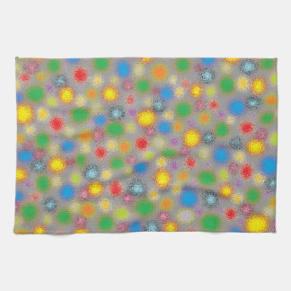 Frosted Polka Dots Tea Towel