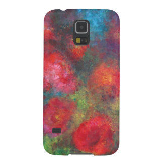 Frosted roses galaxy s5 cover