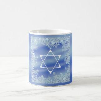 Frosted Star Basic White Mug
