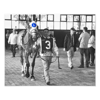 Frosted the Pennsylvania Derby Winner Art Photo