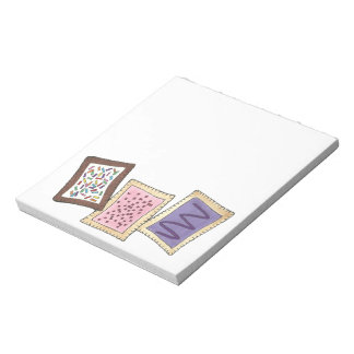 Frosted Toaster Pastries Bakery Breakfast Pastry Notepad