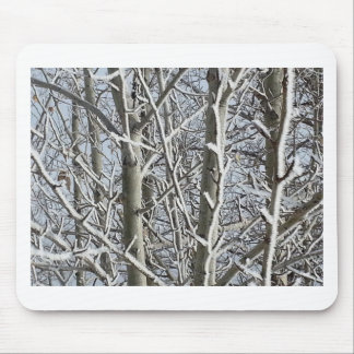Frosted Trees 2 Mouse Pads