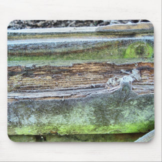Frosted Wood Mouse Pad