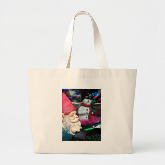Frosty and Gerome Jumbo Tote Bag