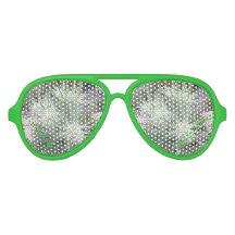 Frosty Ball Alpine Wildflowers Aviator Sunglasses