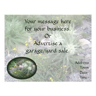 Frosty Ball: Alpine Wildflowers Custom Flyer