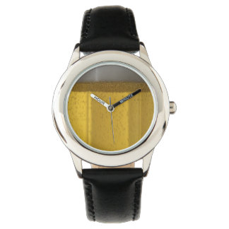 Frosty Beer Glass Wristwatches