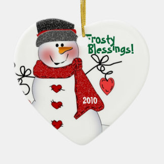Frosty Blessings! Christmas Ornament