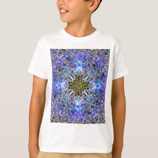 Frosty Cool Blue Ice For A Hot Summer Day T-Shirt