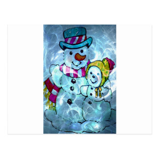 FROSTY LOVE.jpg Postcard