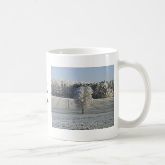 Frosty Morning in Germany Classic White Coffee Mug