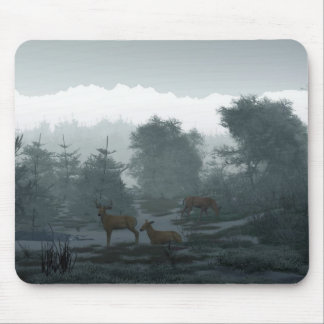 Frosty Morning Mouse Mat