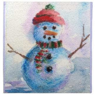 Frosty Napkins