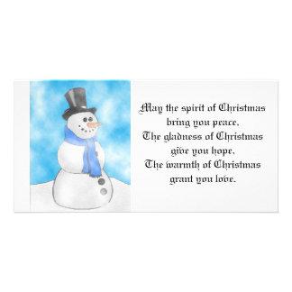 Frosty Photo Cards