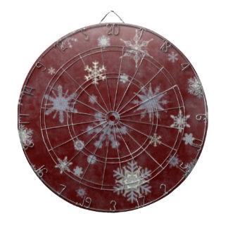 Frosty Snowflake Dart Boards