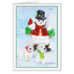 Frosty Terrier Adventures Cards