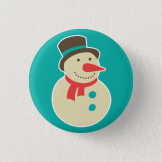Frosty the Snowman button