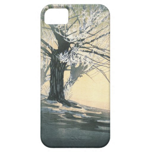 Frosty Tree 1920 iPhone 5 Cover