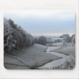 Frosty Valley Mouse Pad