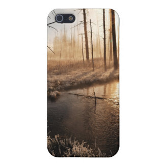 Frosty Yellowstone Morning Case For iPhone 5/5S