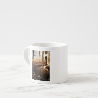 Frosty Yellowstone Morning Espresso Cup