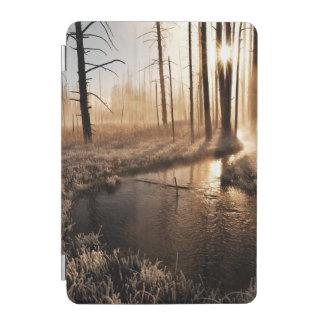 Frosty Yellowstone Morning iPad Mini Cover