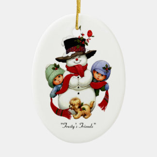 Frosty's Friends Holiday Ornament