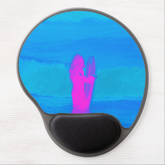 Frothing Neon Gel Mouse Pad