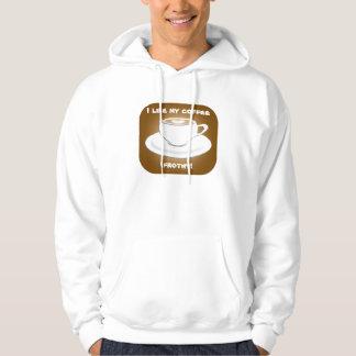 Frothy Coffee Hoodie Sweatshirt
