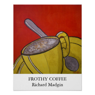 Frothy Coffee Print