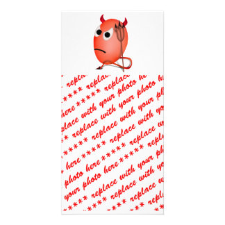 Frowning Little Devil ed Egg Picture Card