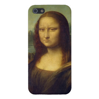 Frowning Mona Lisa Case For iPhone 5/5S