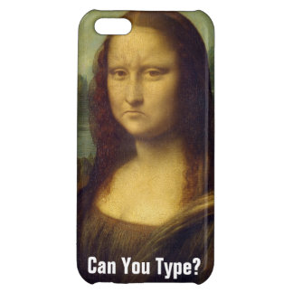 Frowning Mona Lisa Case For iPhone 5C