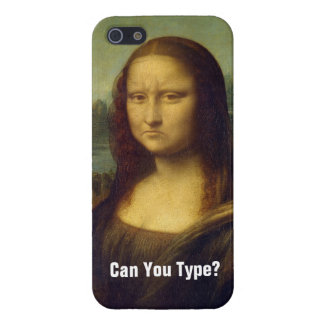 Frowning Mona Lisa Cover For iPhone 5/5S
