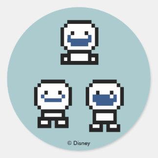 Frozen | 8-Bit Snowgies Round Sticker