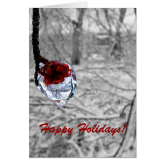 """""""Frozen Berries"""" Holiday Card"""