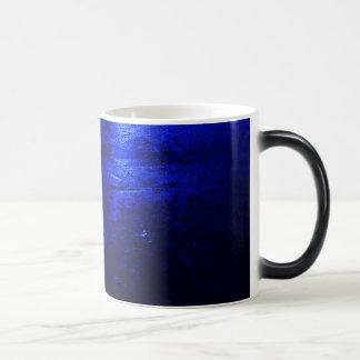 Frozen Blue Black/White 11 oz Morphing Mug