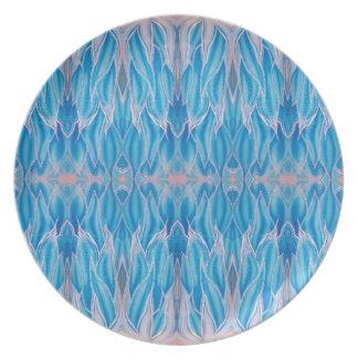 Frozen Blue Party Plates