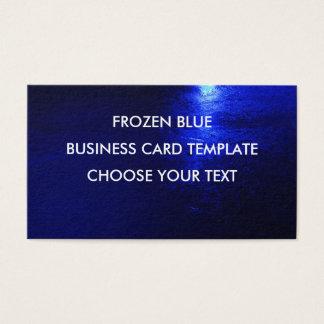 """Frozen Blue Standard, 3.5"""" x 2.0"""", Standard Matte Business Card"""