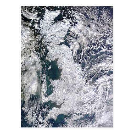 Frozen Britain Postcard