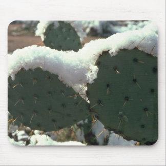 Frozen Cactus Mousepads