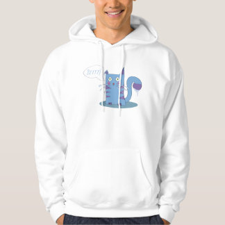 Frozen cat to jumper hoodie