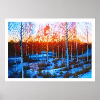 Frozen Dalarna Stream Poster