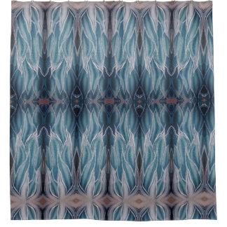 Frozen Deep Waves Shower Curtain