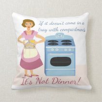 Frozen Dinner Supper Cushion