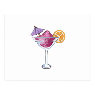FROZEN DRINK POSTCARD