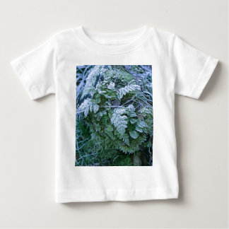 Frozen Fern on a Tree Stump Infant Tee Shirt