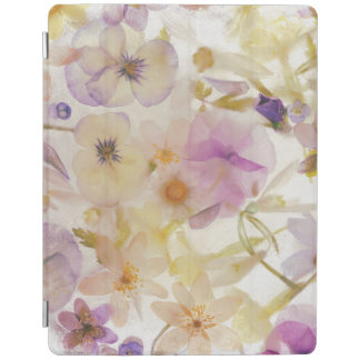Frozen flowers iPad cover