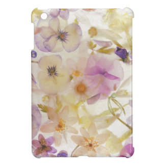 Frozen flowers iPad mini case